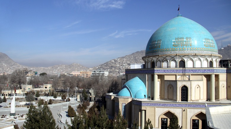 The Blue Mosque of Kabul