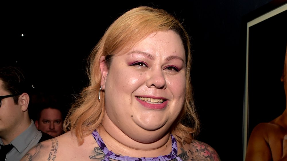 A picture of Andre the Giant's daughter, Robin Christensen-Roussimoff