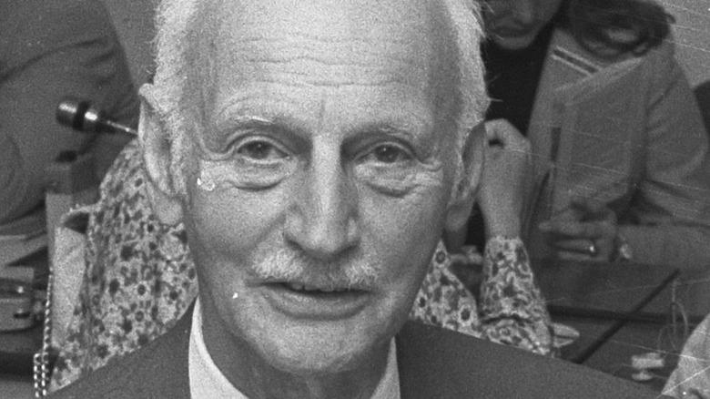 Otto Frank smiling