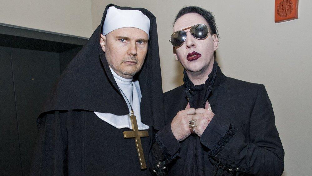 Billy Corgan Marilyn Manson