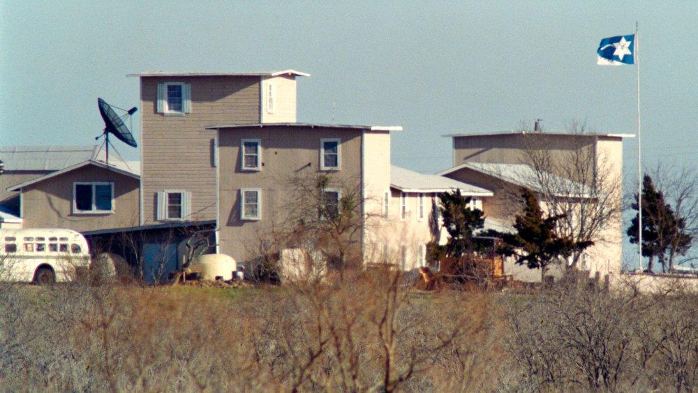 Branch Davidian compound in Waco