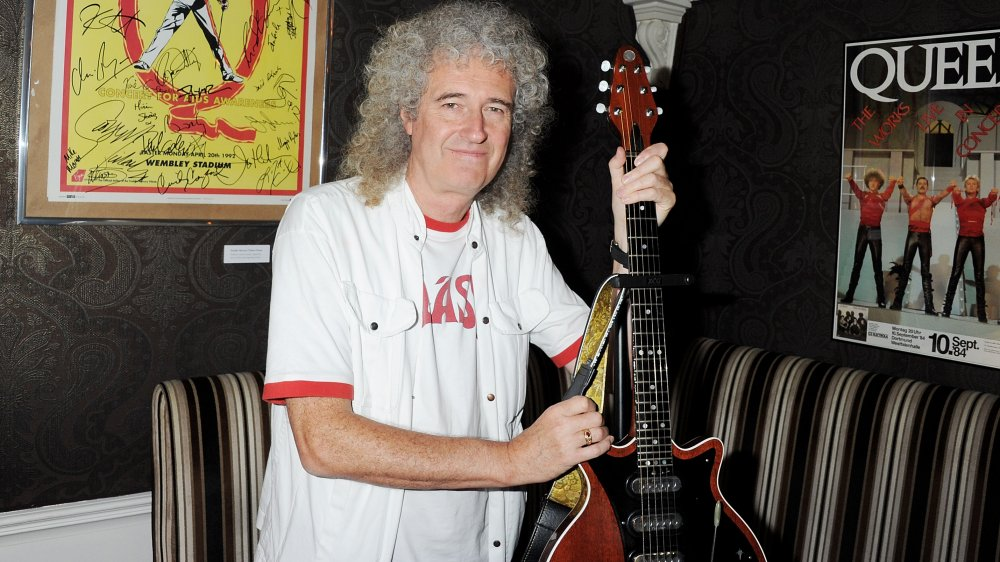May with the Red Special