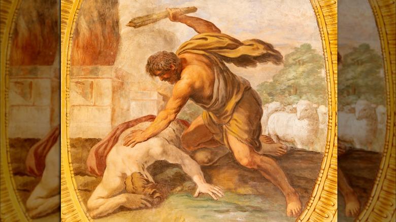 illustration of Cain killing Abel