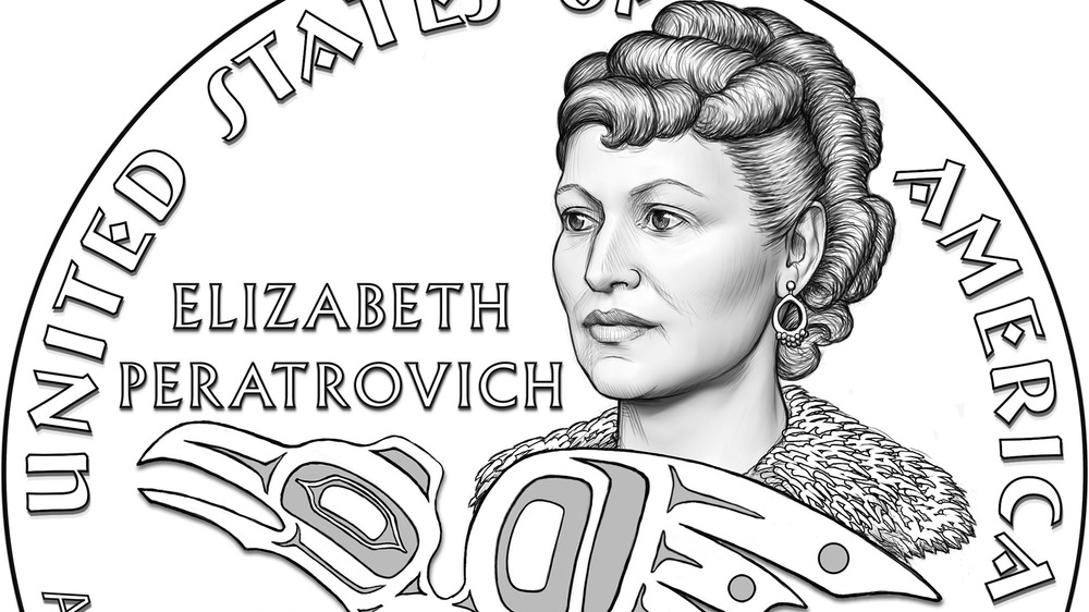 Elizabeth Peratrovich commemorative coin art