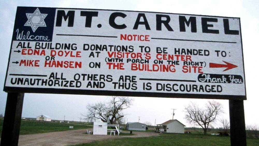 Mt. Carmel sign