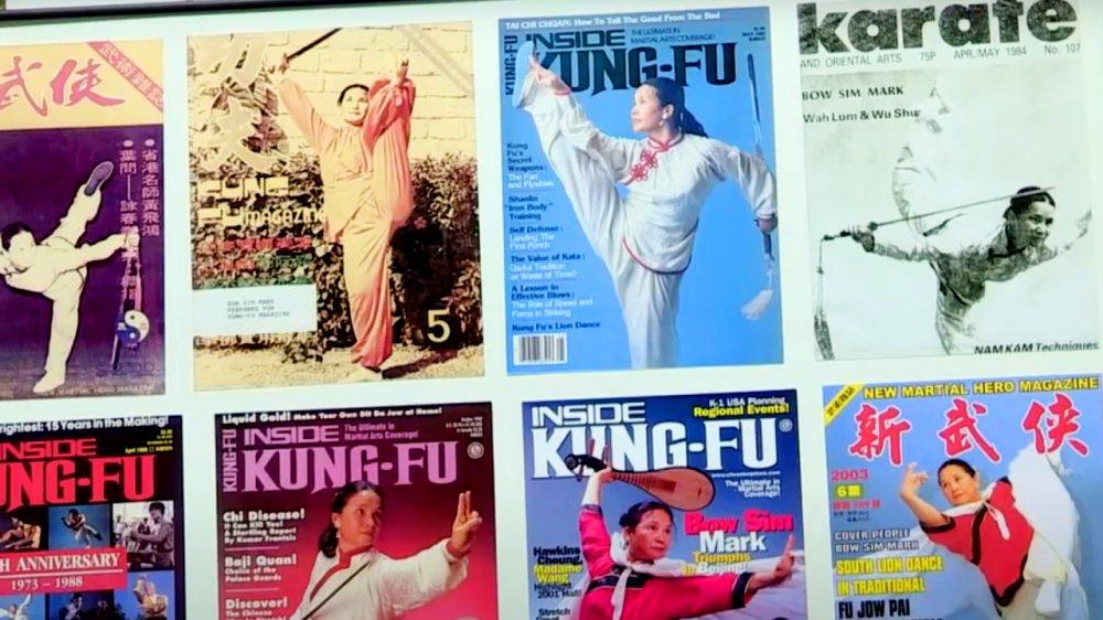 Magazine photos of Bow-sim Mark