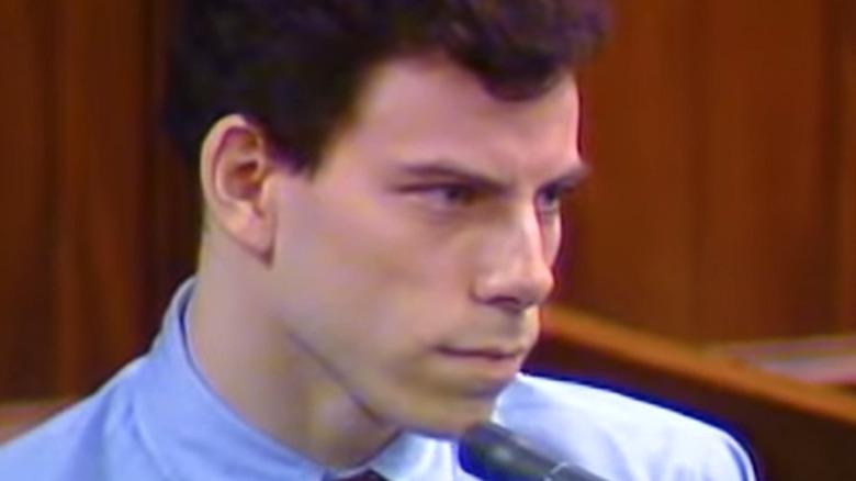 Erik Menendez testifying