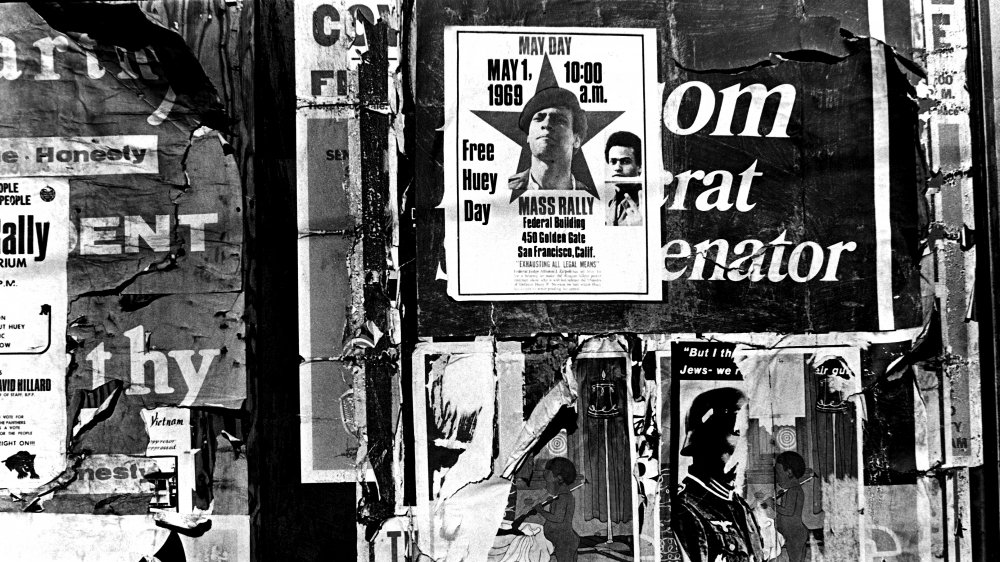Black Panther Party poster for May Day rally