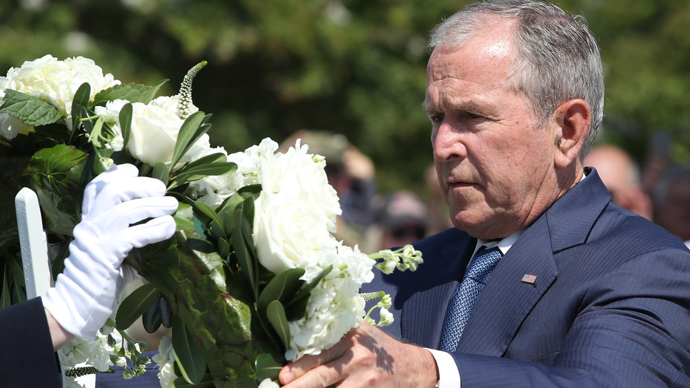 President George W. Bush, Arlington