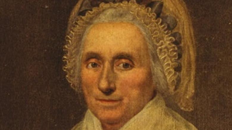 Mary Ball Washington portrait