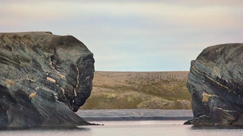 Scylla and Charybdis rocks