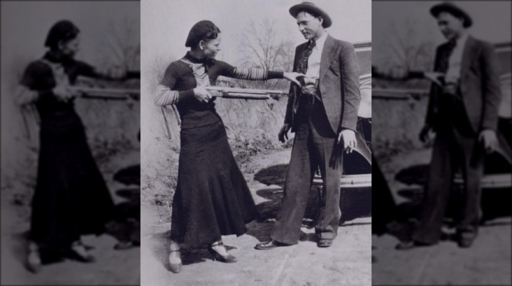 Bonnie and Clyde and guns