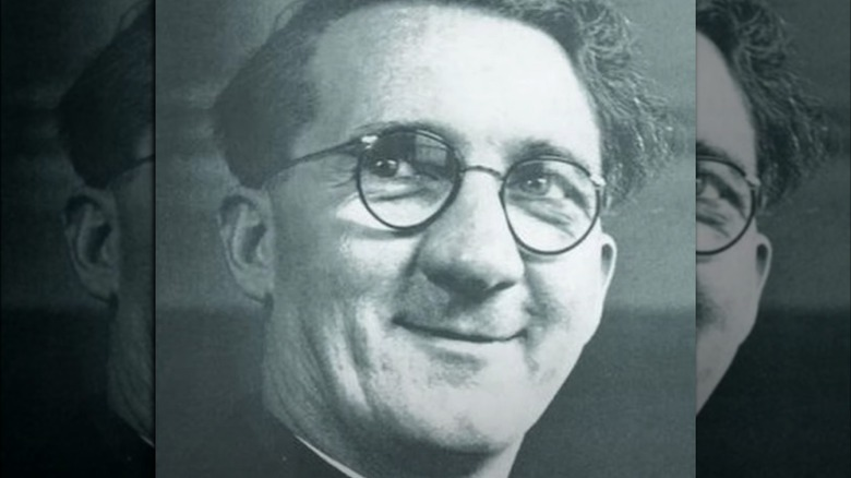 Hugh O'Flaherty smiling