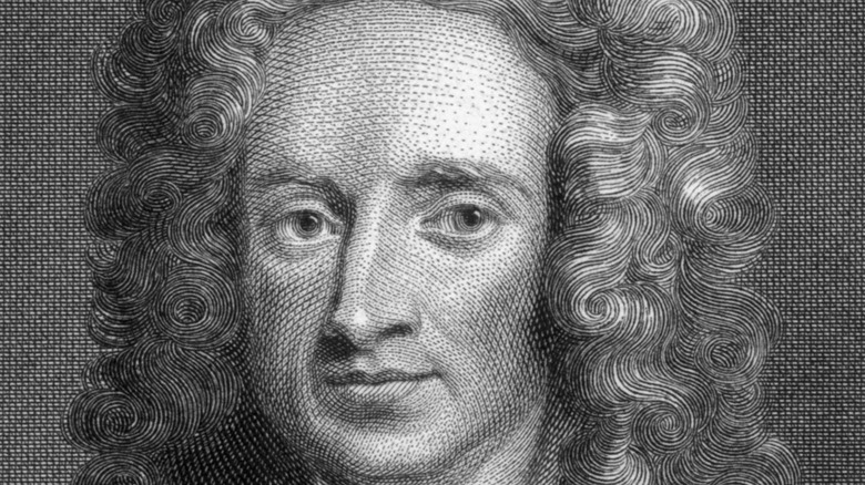 physicist Sir Isaac Newton