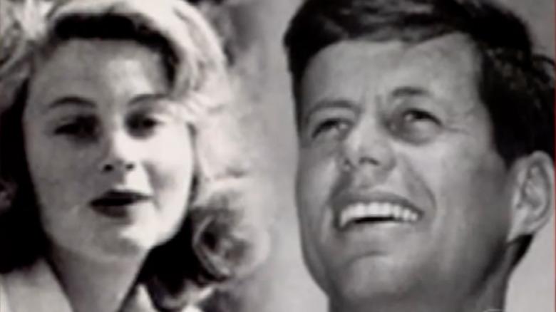 JFK and Gunilla von Post