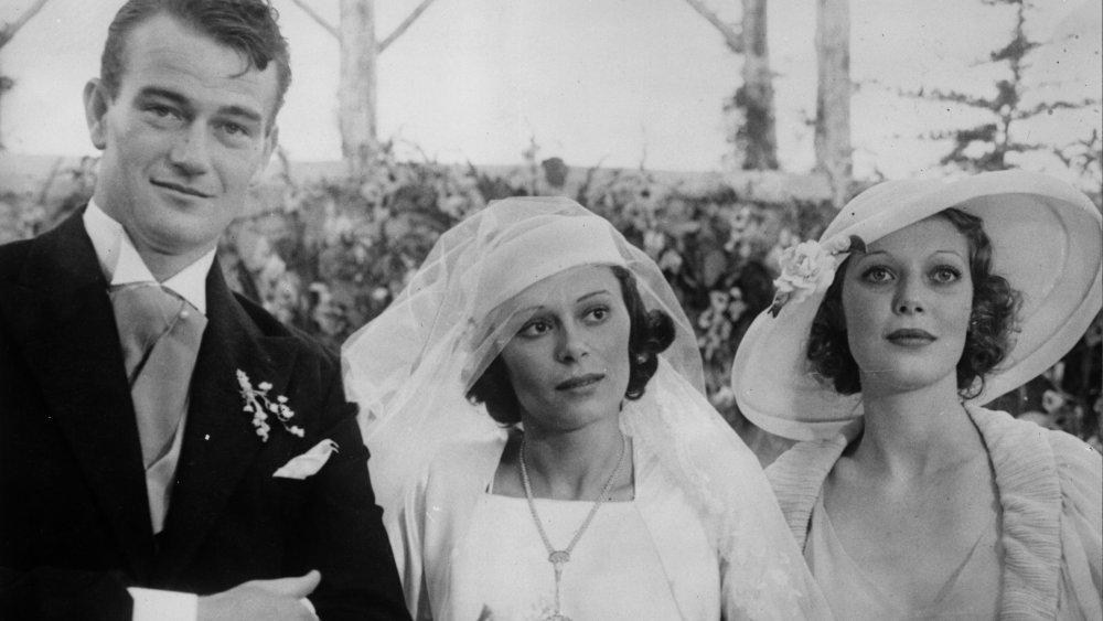 John Wayne and first wife, Josephine Saenz