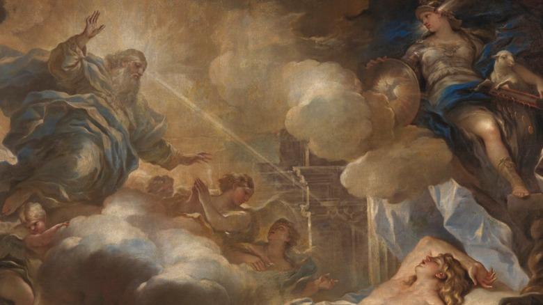 'The Dream of Solomon' (Detail)