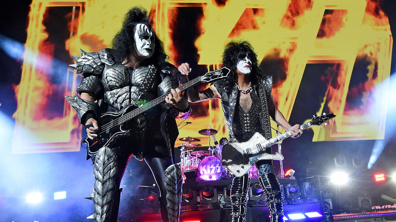Gene Simmons and Paul Stanley live