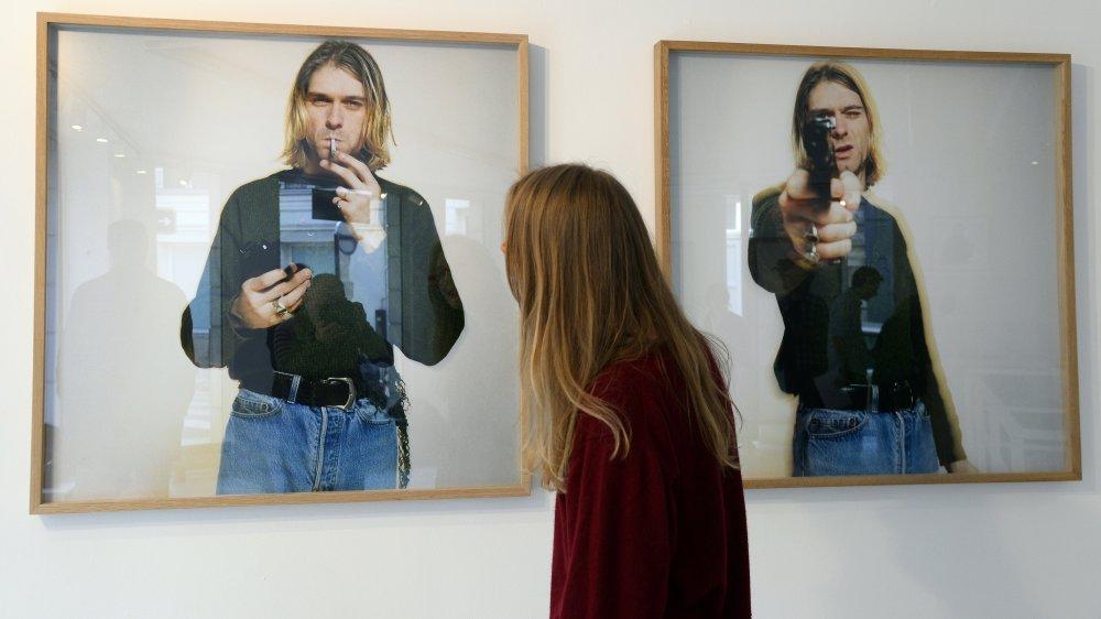 Photos of Cobain