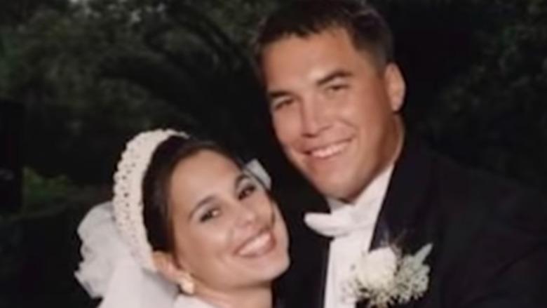 Laci and Scott Peterson wedding photo