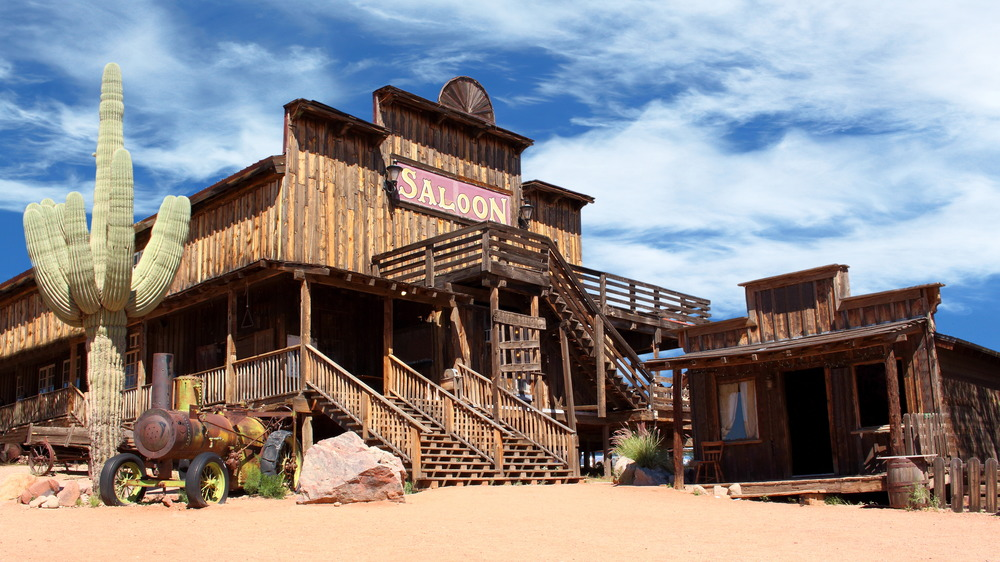 saloon of the Old West