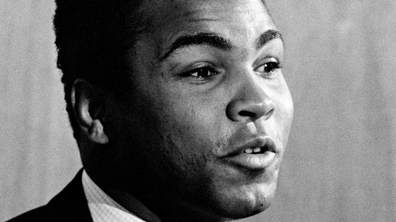 Muhammad Ali speaking