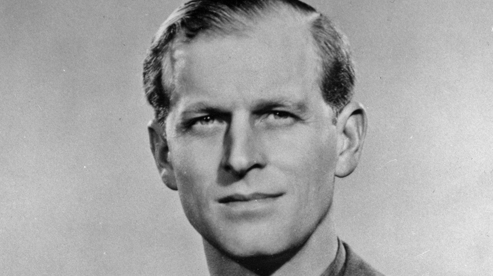 Prince Philip in military uniform