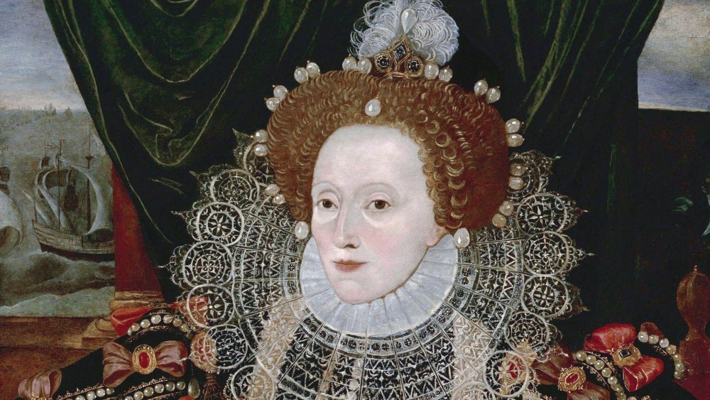 Elizabeth I of England, the Armada Portrait, 1588