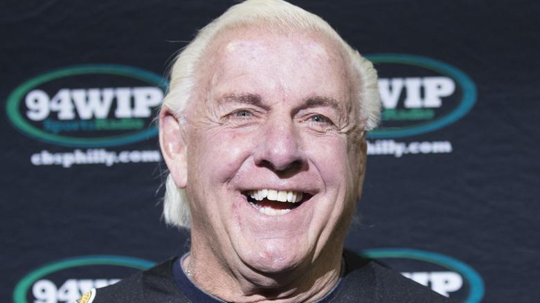 Ric Flair smiling