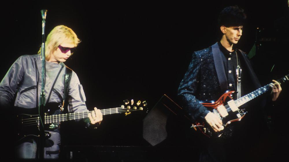 Benjamin Orr and Ric Ocasek, 1987