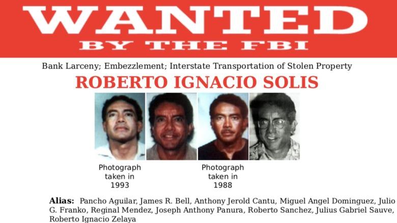 Roberto Solis wanted poster