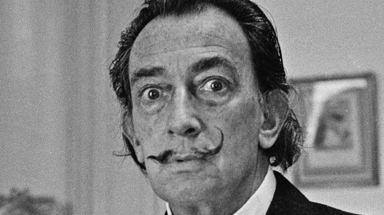 Spanish artist Salvador Dali