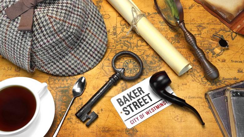 Sherlock Holmes concept