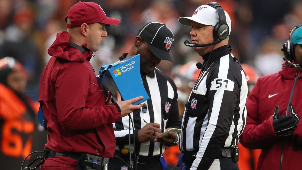 NFL referee Carl Cheffers
