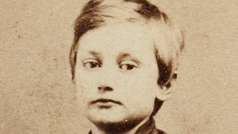 John Clem in Civil War uniform