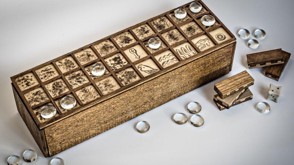 Senet board game