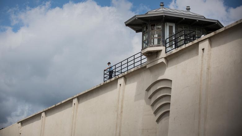 Outer wall of Clinton Correctional Facility