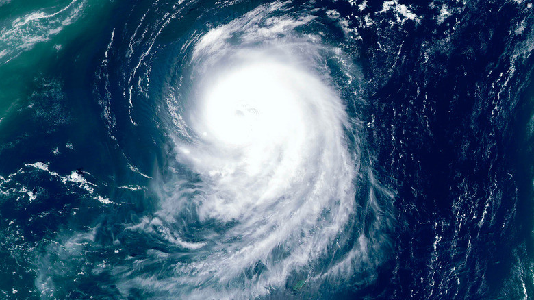 Image of a super typhoon