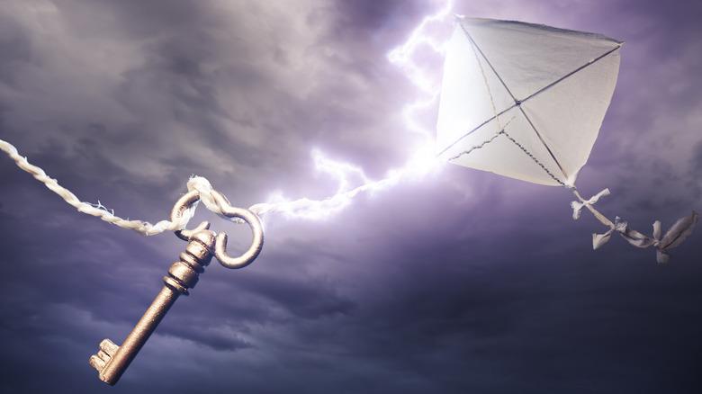 Benjamin Franklin's kite experiment