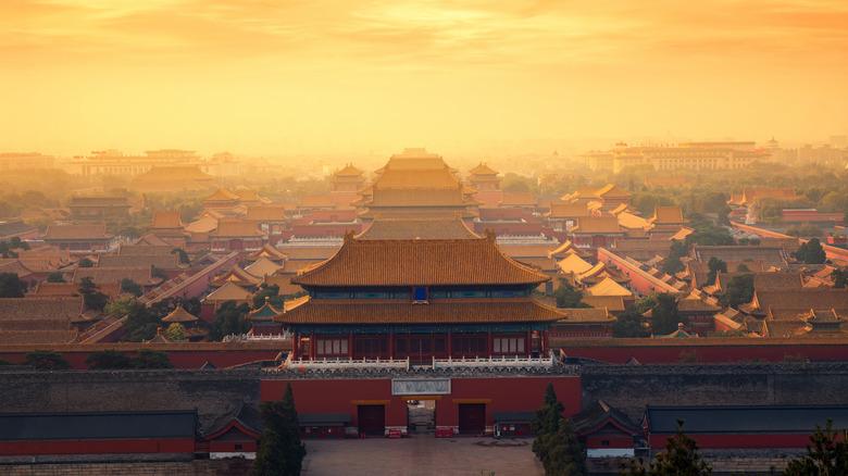 Sunrise over Forbidden City
