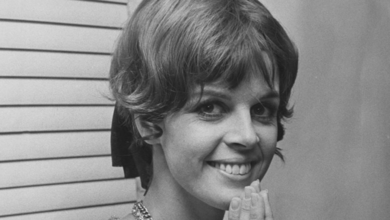 Claudine Longet smiling