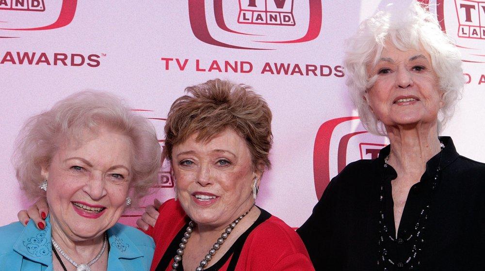 Golden Girls TV sitcom Bea Arthur, Betty White, Rue McClanahan