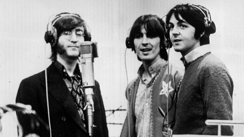 John Lennon George Harrison Paul McCartney