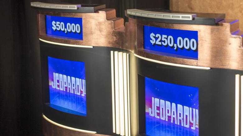Jeopardy! podiums