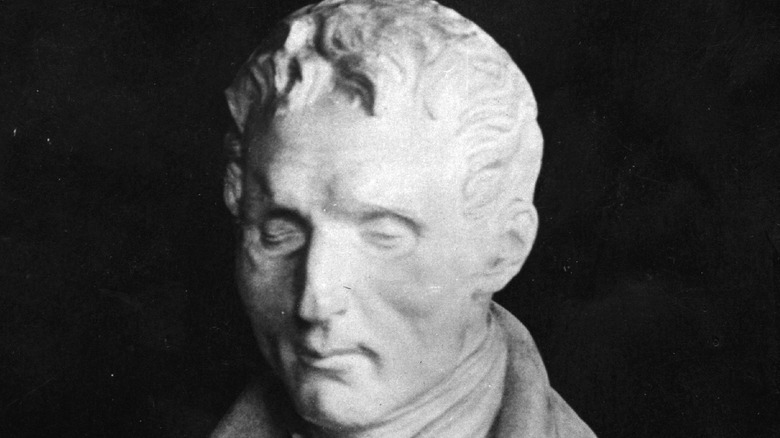 Bust of Louis Braille