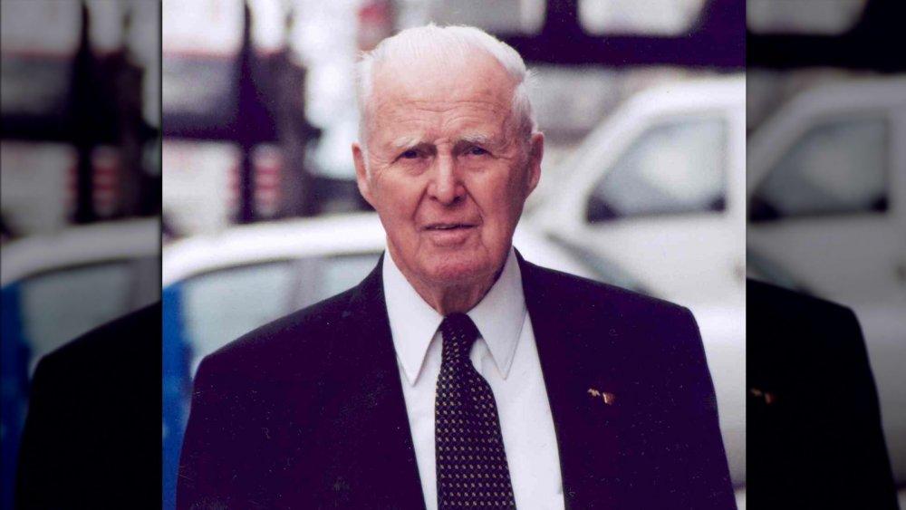 Plant geneticist Norman Borlaug