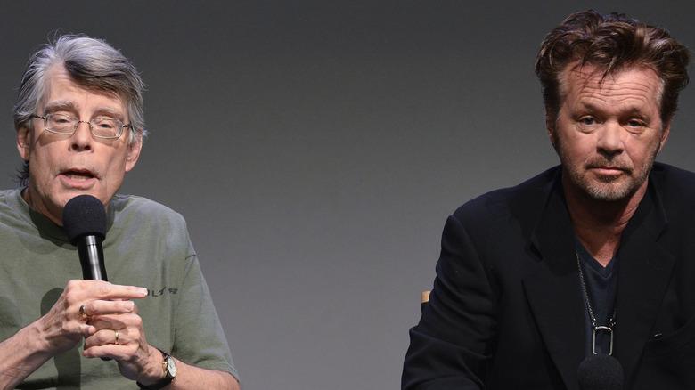 Stephen King and John Mellencamp
