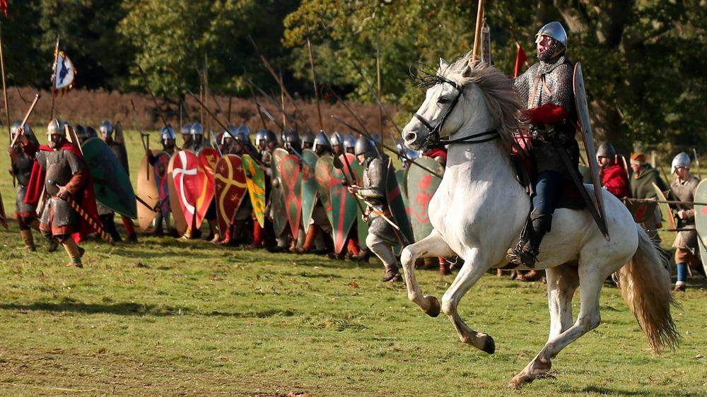 Reanactment, Battle of Hastings