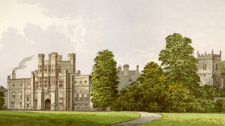Illustration of Coughton Court