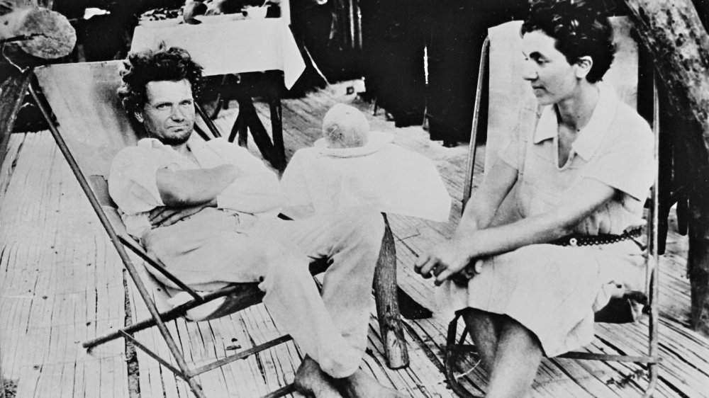 Doctor Friedrich Ritter and Dore Strauch